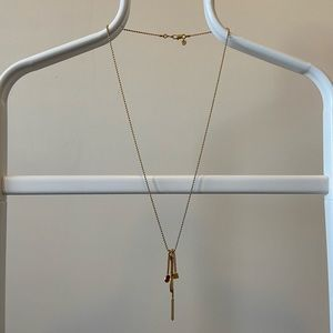 Madewell Gold Shape Chain Necklace